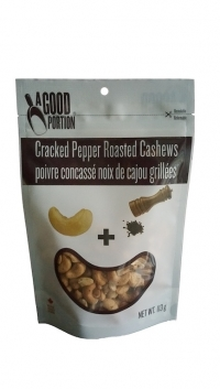 8 X 113g Cracked Pepper Roasted Cashews